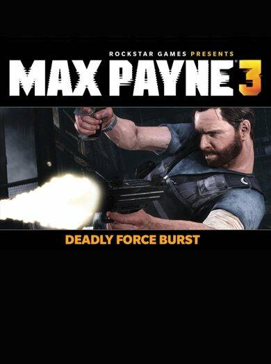 Paradox Interactive Max Payne 3 - Deadly Force Burst (DLC) Steam Key EUROPE