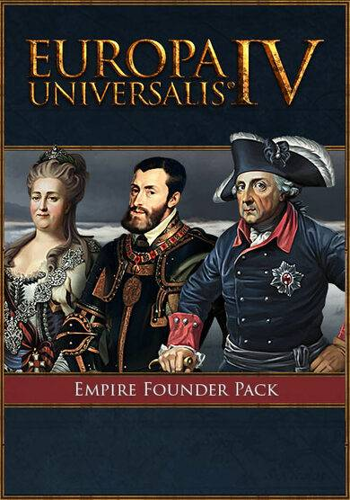 Paradox Interactive Europa Universalis IV - Empire Founder Pack (DLC) Steam Key GLOBAL