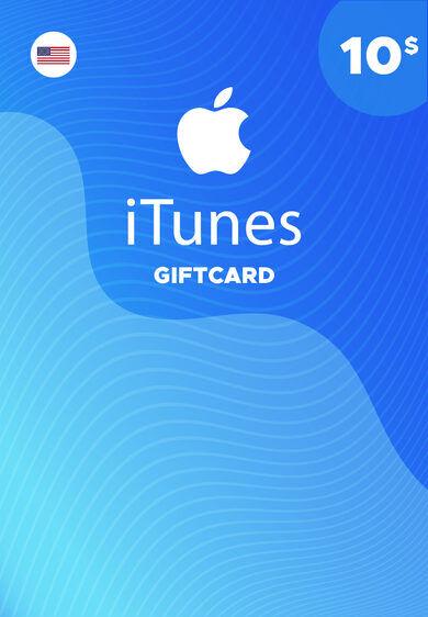 Apple Inc. Apple iTunes Gift Card 10 USD iTunes Key NORTH AMERICA