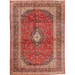 Noué à la main. Origine: Persia / Iran 300X410 Tapis Kashan D'orient Fait Main Rouge Foncé/Rouille/Rouge Grand (Laine, Perse/Iran) - Publicité