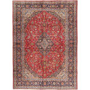 Noué à la main. Origine: Persia / Iran Tapis Persan Kashan 288X405 Rouge Foncé/Rouille/Rouge Grand (Laine, Perse/Iran) - Publicité