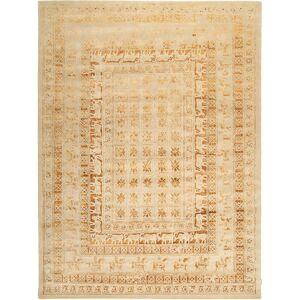 Noué à la main. Origine: India Tapis Roma Moderne Collection 303X409 Beige Foncé/Marron Clair Grand ( Inde)