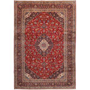 Noué à la main. Origine: Persia / Iran Tapis D'orient Kashan 277X401 Rouge Foncé/Marron Clair Grand (Laine, Perse/Iran) - Publicité