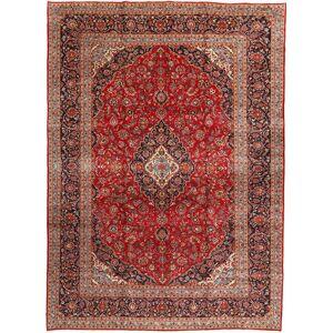 Noué à la main. Origine: Persia / Iran 292X408 Tapis D'orient Kashan Rouge Foncé/Rouille/Rouge Grand (Laine, Perse/Iran) - Publicité