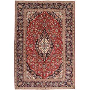 Noué à la main. Origine: Persia / Iran Tapis D'orient Kashan Patina 244X360 Rouge Foncé/Marron Foncé (Laine, Perse/Iran) - Publicité
