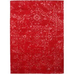 Noué à la main. Origine: India Tapis Orient Express - Rouge 210X290 Rouge/Rouille/Rouge (Laine/Soie De Bambou, Inde)