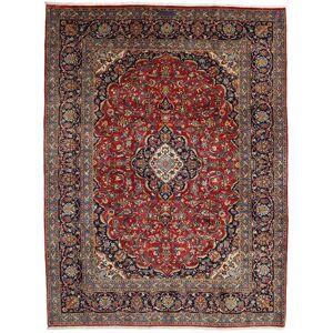 Noué à la main. Origine: Persia / Iran 255X338 Tapis D'orient Kashan Rouge Foncé/Marron Foncé Grand (Laine, Perse/Iran) - Publicité
