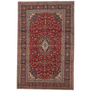Noué à la main. Origine: Persia / Iran Tapis Fait Main Kashan 225X352 Rouge Foncé/Marron Foncé (Laine, Perse/Iran) - Publicité