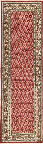 Noué à la main. Origine: Persia / Iran 85X295 Tapis Tabriz Patina D'orient Fait Main Tapis Couloir Rouge Foncé/Marron Clair (Laine, Perse/Iran)