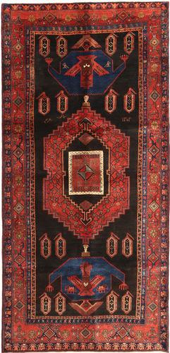 Noué à la main. Origine: Persia / Iran Tapis D'orient Koliai 135X290 Rouge Foncé/Noir (Laine, Perse/Iran)