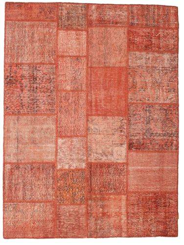 Noué à la main. Origine: Turkey Tapis Patchwork 170X230 Rouge Foncé/Rouge/Rose Clair (Laine, Turquie)