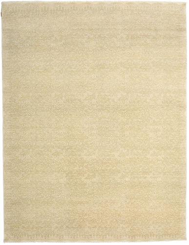 Noué à la main. Origine: India Tapis Himalaya Bambou Soie 284X370 Beige/Beige Foncé Grand ( Inde)