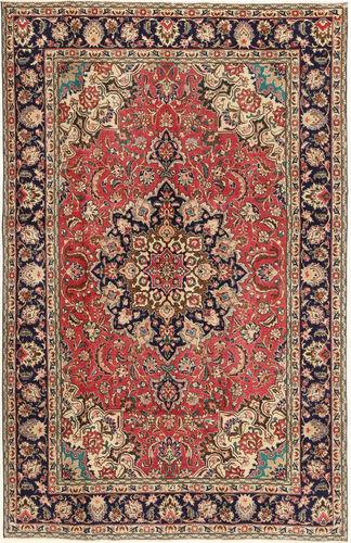 Noué à la main. Origine: Persia / Iran Tapis D'orient Tabriz Patina 190X297 Marron Clair/Marron Foncé (Laine, Perse/Iran)