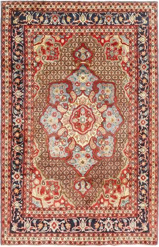 Noué à la main. Origine: Persia / Iran Tapis Fait Main Koliai 198X308 Rouge Foncé/Marron Foncé (Laine, Perse/Iran)