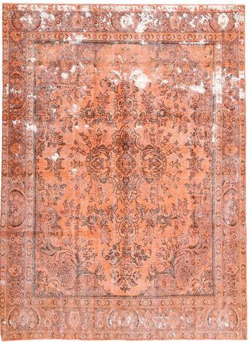 Noué à la main. Origine: Persia / Iran Tapis Colored Vintage 235X330 Rose Clair/Beige Foncé (Laine, Perse/Iran)