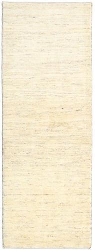 RugVista Tapis Corridor 74X199 Fait Main Beige/Blanc/Crème