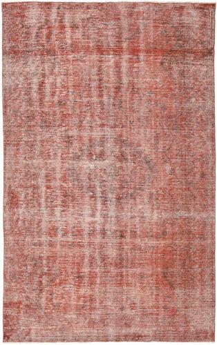 Noué à la main. Origine: Turkey 174X278 Tapis Colored Vintage Moderne Fait Main Rouge Foncé/Rose Clair (Laine, Turquie)
