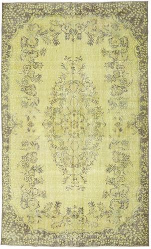 Noué à la main. Origine: Turkey 174X292 Tapis Colored Vintage Moderne Fait Main Vert Clair/Jaune (Laine, Turquie)