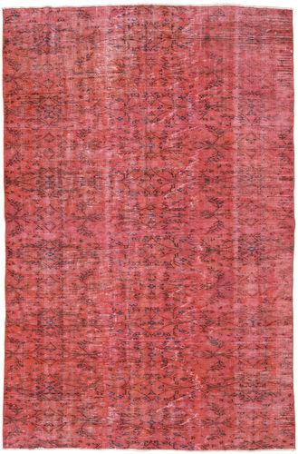 Noué à la main. Origine: Turkey 158X240 Tapis Colored Vintage Moderne Fait Main Rouille/Rouge/Rose (Laine, Turquie)