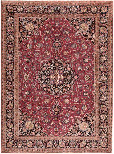 Noué à la main. Origine: Persia / Iran Tapis Rashad Patina Signé: Shibani 253X342 Rouge Foncé/Rose Clair Grand (Laine, Perse/Iran)