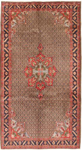 Noué à la main. Origine: Persia / Iran 158X286 Tapis D'orient Koliai Tapis Couloir Rouge Foncé/Marron Foncé (Laine, Perse/Iran)