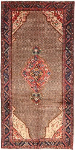 Noué à la main. Origine: Persia / Iran 155X320 Tapis Koliai D'orient Fait Main Rouge Foncé/Marron Foncé/Marron (Laine, Perse/Iran)