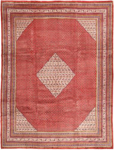 Noué à la main. Origine: Persia / Iran Tapis Fait Main Sarough Mir 308X402 Rouge Foncé/Rose Clair Grand (Laine, Perse/Iran)