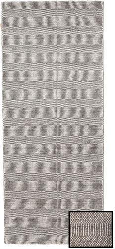 Noué à la main. Origine: Turkey 80X200 Tapis Bambou Grass - Beige Moderne Tapis Couloir Gris Clair (Laine/Soie De Bambou,turquie)