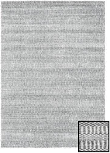 Noué à la main. Origine: Turkey 160X230 Tapis Bambou Grass - Gris Moderne Gris Clair (Laine/Soie De Bambou,turquie)
