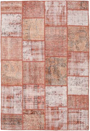 Noué à la main. Origine: Turkey Tapis Patchwork 157X231 Rose Clair/Rouge Foncé (Laine, Turquie)