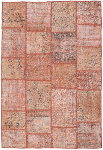 Noué à la main. Origine: Turkey Tapis Patchwork 160X235 Rose Clair/Rouge Foncé (Laine, Turquie)