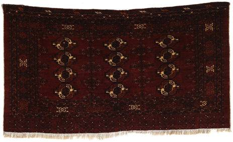 RugVista 97X175 Tapis D'orient Afghan Khal Mohammadi Marron Foncé (Laine, Afghanistan)
