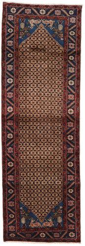 Noué à la main. Origine: Persia / Iran Tapis D'orient Koliai 100X300 Tapis Couloir Rouge Foncé/Marron Foncé (Laine, Perse/Iran)