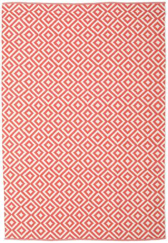 RugVista 200X300 Tapis Torun Tissé À La Main Moderne Coton Rouge/Rose Clair/Beige