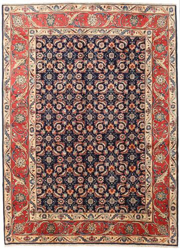 Noué à la main. Origine: Persia / Iran Tapis D'orient Koliai 200X268 Rouge Foncé/Gris Foncé (Laine, Perse/Iran)