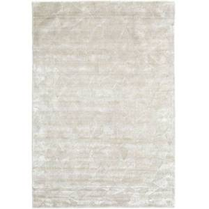 RugVista Tapis Crystal - Blanc Argent 160x230 Tapis Moderne
