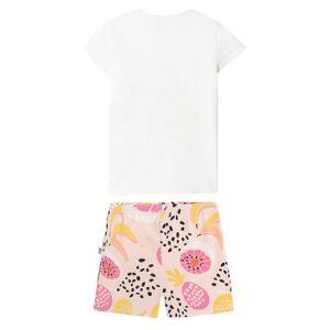 Petit Béguin Pyjama fille manches courtes blanc Miss Koko - Taille - 5 ans - Publicité