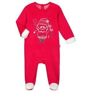 Petit Béguin Pyjama bébé velours Ho ho - Taille - 12 mois
