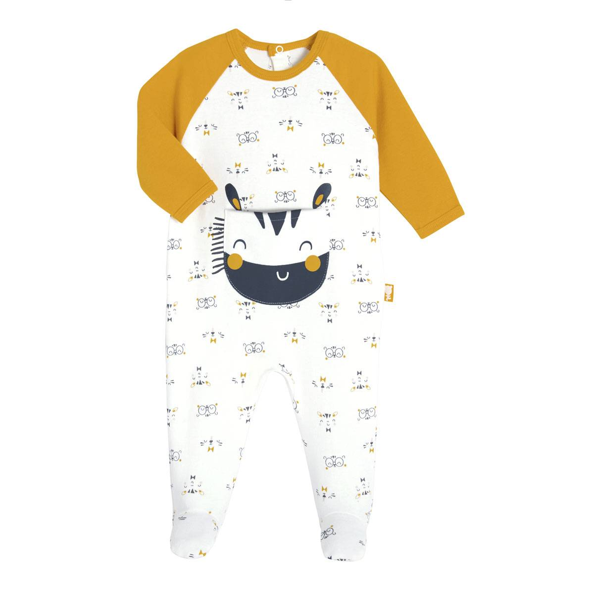Petit Béguin Pyjama bébé Paprika - Taille - 6 mois