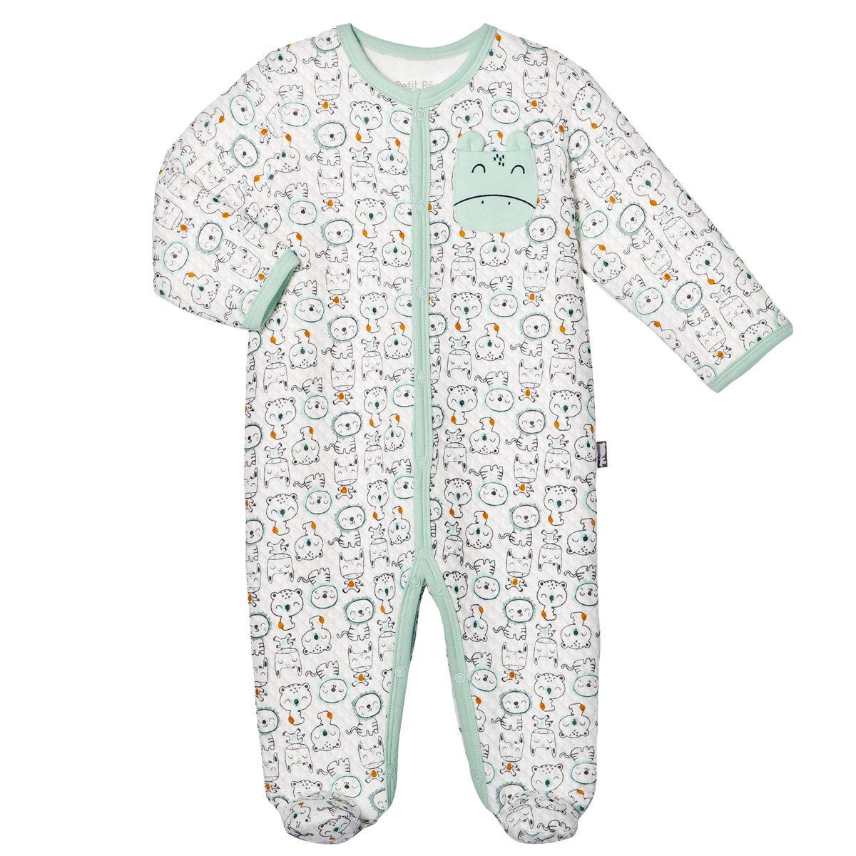 Petit Béguin Pyjama bébé garçon Bamaco - Taille - 6 mois