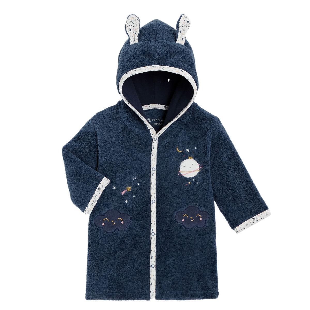 Petit Béguin Robe de chambre bébé fille Rêve Étoilé - Taille - 12 mois