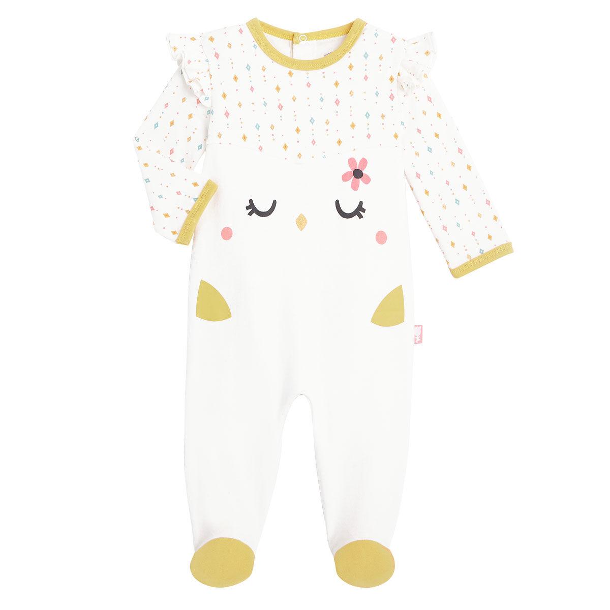 Petit Béguin Pyjama bébé Frida - Taille - 6 mois