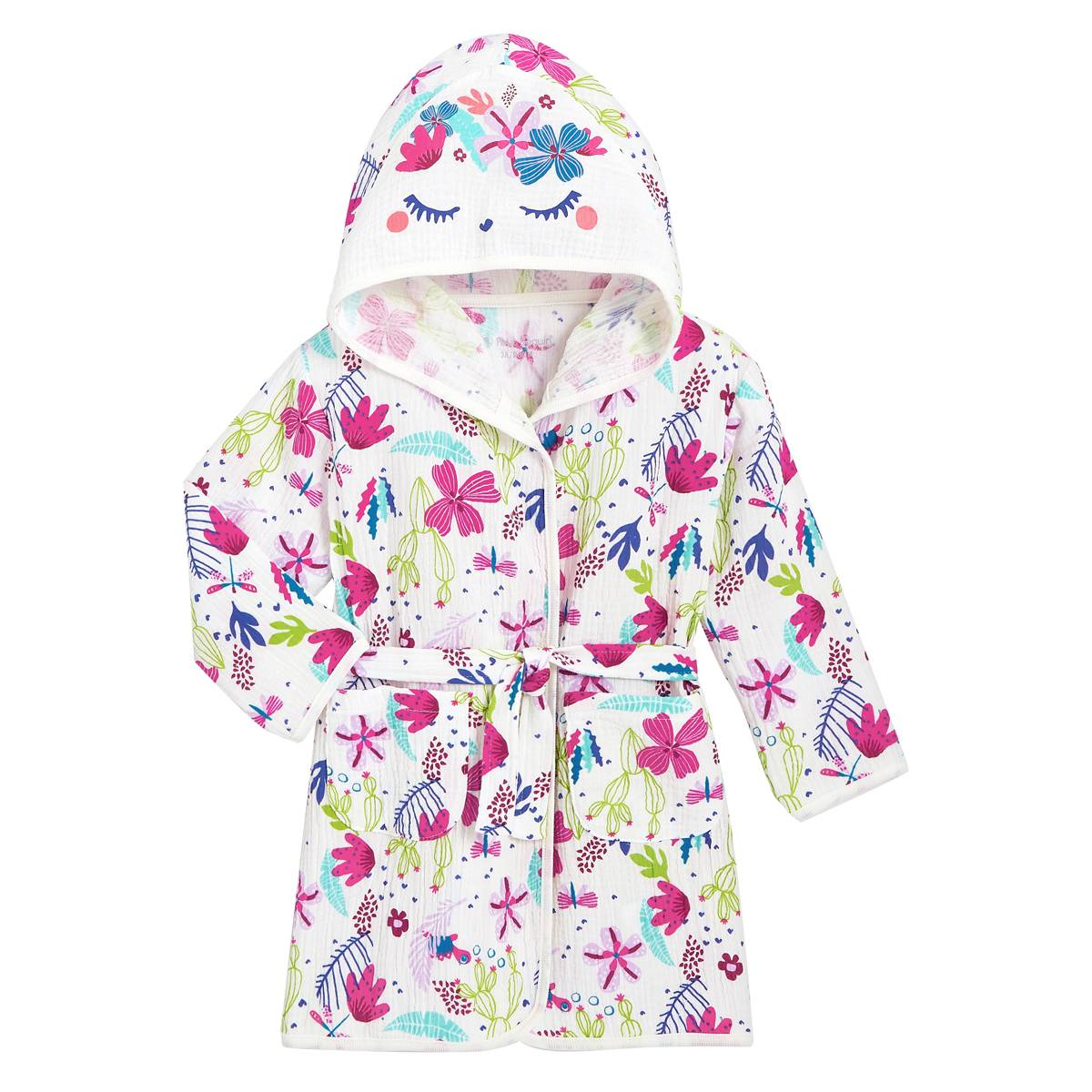 Petit Béguin Robe de chambre bébé fille Paillette - Taille - 5 ans