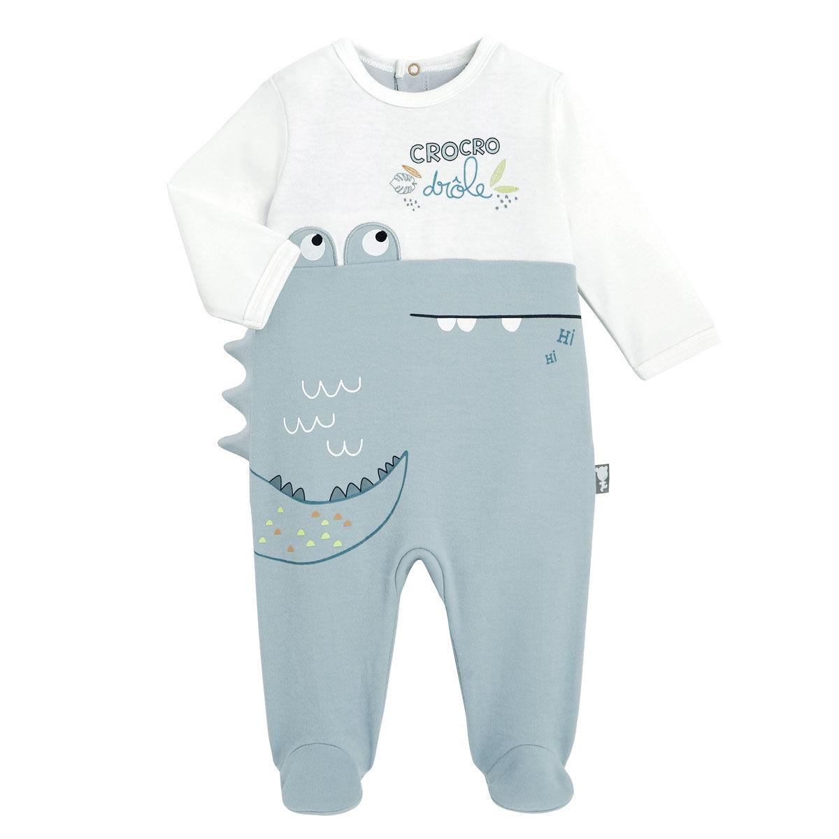 Petit Béguin Pyjama bébé Croco Jungle - Taille - 36 mois