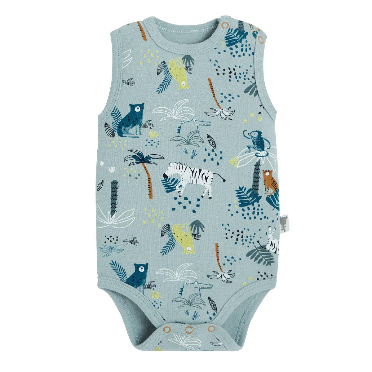 Petit Béguin Body bébé garçon débardeur Croco Jungle - Taille - 6 mois