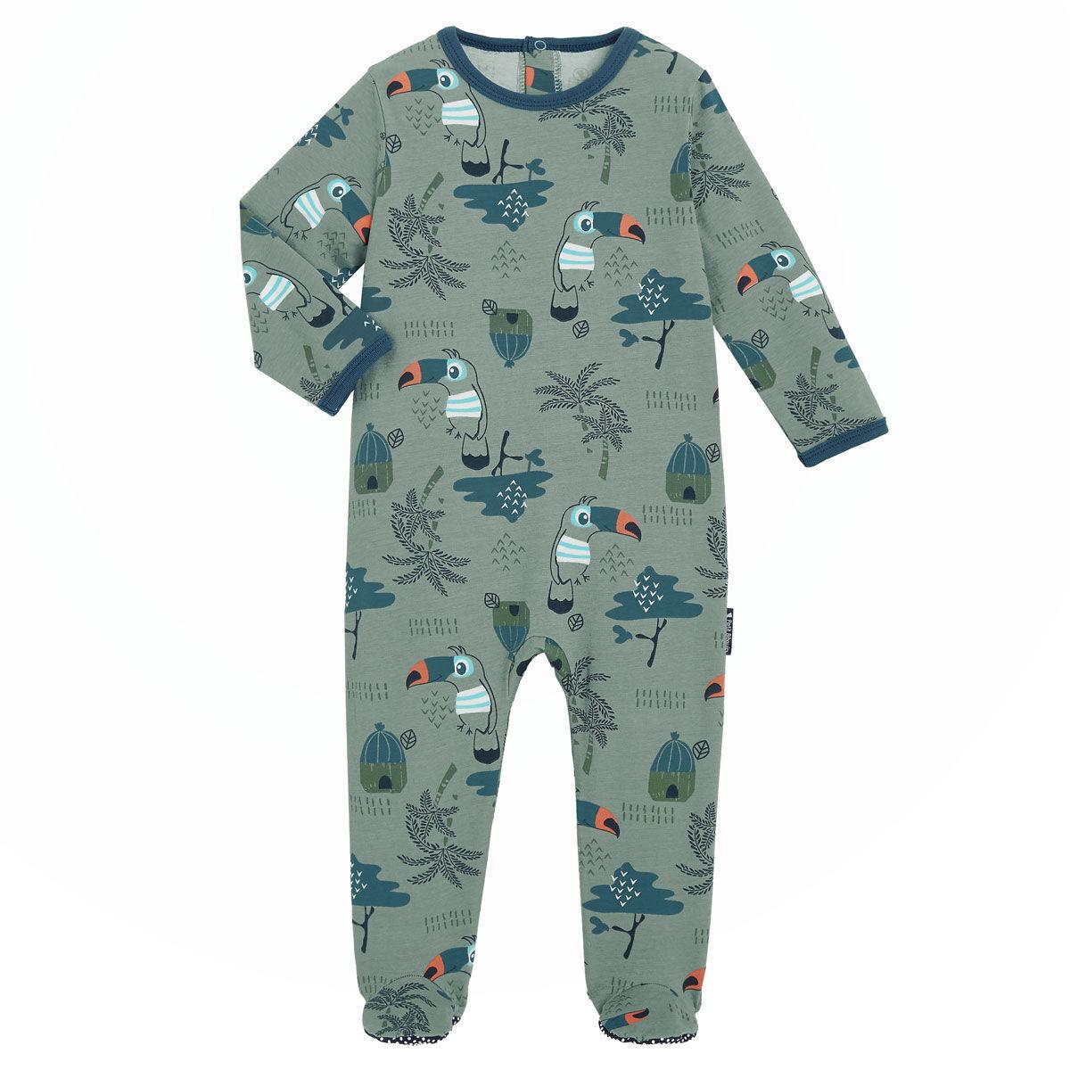 Petit Béguin Pyjama bébé Bora bora - Taille - 6 mois