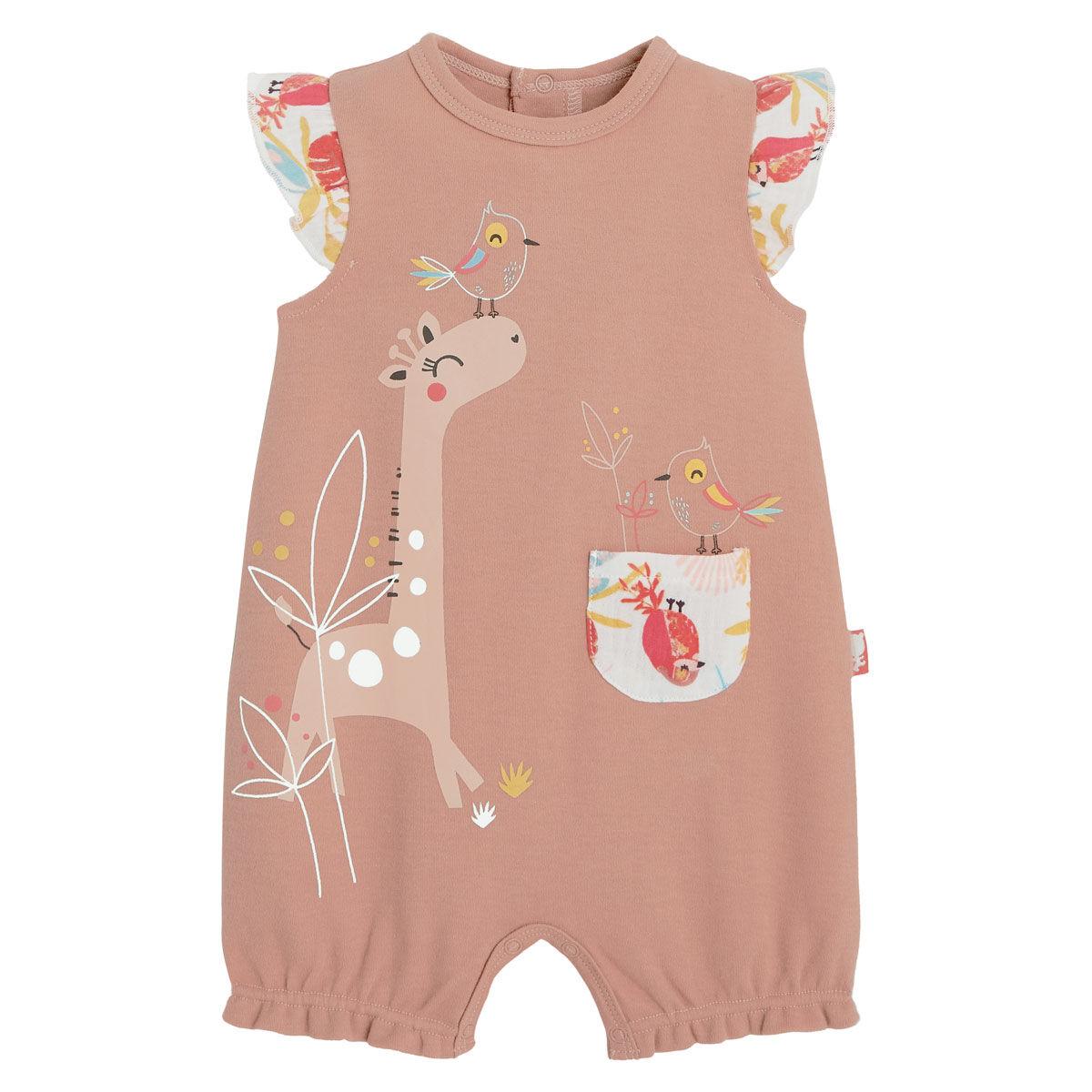 Petit Béguin Barboteuse bébé fille Tropic - Taille - 12 mois