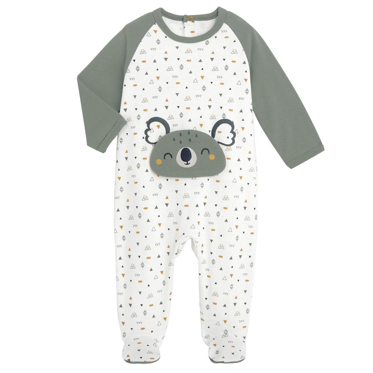 Petit Béguin Pyjama bébé Petit Safari - Taille - 6 mois