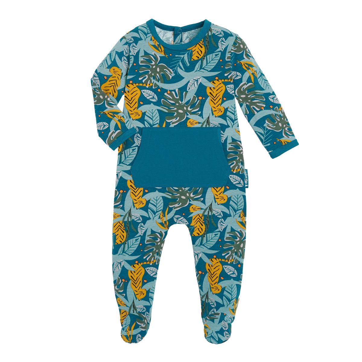 Petit Béguin Pyjama bébé contenant du coton bio Malawi - Taille - 6 mois