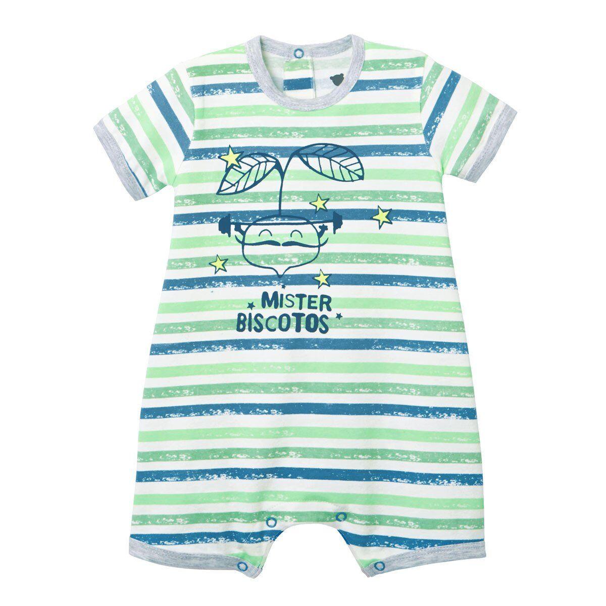 Petit Béguin Barboteuse bébé garçon Ramollo - Taille - 6 mois